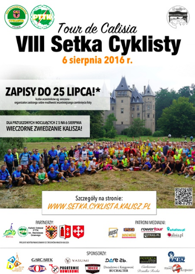 Tour de Calisia 2016 - plakat